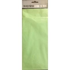 Silkepapir grøn