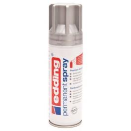 Edding permanent spray sølv mat, 200ml