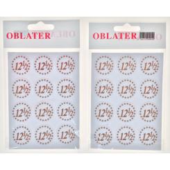 Oblater 12½ Kobber, 24 stk