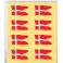 Oblater splitflag stor, 16 stk.