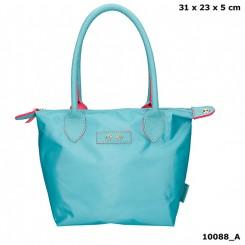 Trend LOVE lille håndtaske, turkis