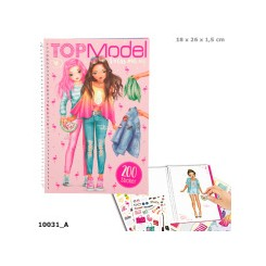 TOPModel Dress Me Up Stickersbog Tropical