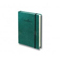 Faber Castell Bamboo blok, grøn, A6, ternet sider
