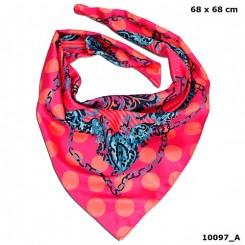 Trend LOVE tørklæde, pink