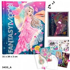 Fantasy Malebog m/lyd & lys