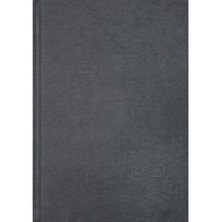 Notesbog linen, A5, grå