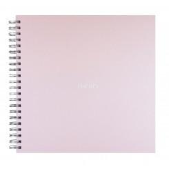Fotoalbum / Scrapbog, pastel lyserød