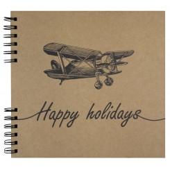 Fotoalbum / Scrapbog, Happy holidays