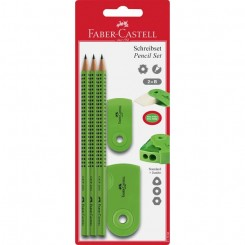 Faber Castell skrivesæt, Sleeve, grøn