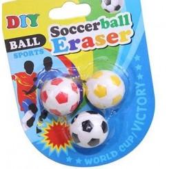 Fodbold viskelæder, 3 stk.