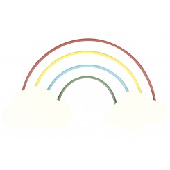Knage, regnbue