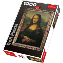 Puslespil Mona Lisa, 1000 brikker
