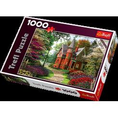 Puslespil Victorian cottage, 1000 brikker