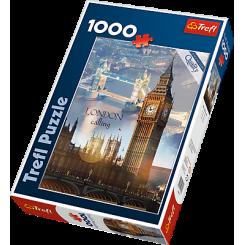 Puslespil London Big Ben, 1000 brikker