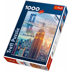 Puslespil New York, The Big Apple, 1000 brikker