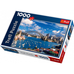 Puslespil Port Jackson, Sydney, 1000 brikker