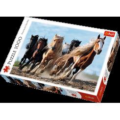 Puslespil Heste, 1000 brikker