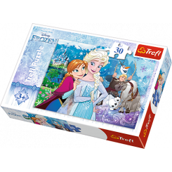 Puslespil Disney Frost, 30 brikker