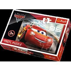 Puslespil Disney Cars, 30 brikker