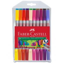 Faber Castell tuscher tynd/tyk 20 stk.