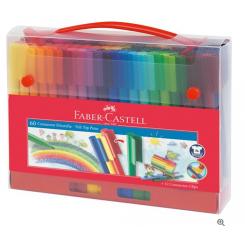 Faber Castell samlebare tuscher, 60 stk.