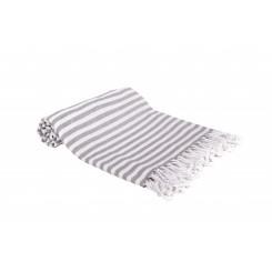 Multi tæppe, dug eller badelagen, grå