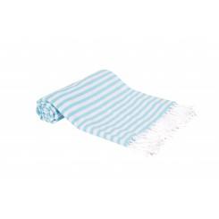 Multi tæppe, dug eller badelagen, turkis