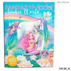 FANTASY Model sticker world - 400 stickers