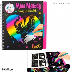 Miss Melody Magic Scratch Bog