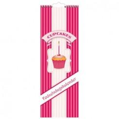 Fødselsdagskalender, cupcakes