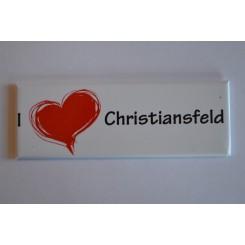 Magnet, I love Christiansfeld