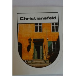 Klistermærke Christiansfeld