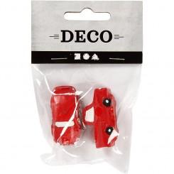 Minifigurer 2 stk. - Rød biler