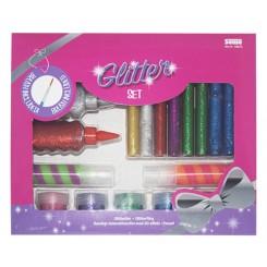 Glitter set - 18 dele