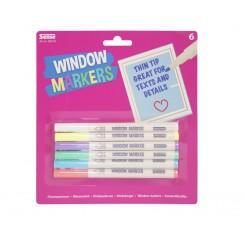 Window Markers 6 stk.