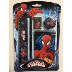 Spiderman skrivesæt