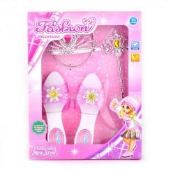 Prinsessesæt 4 dele m. sko