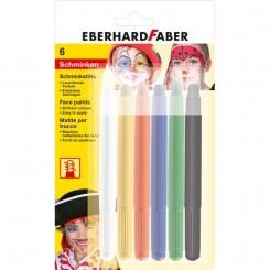 EberhardFaber Ansigtsmaling 6 stk.
