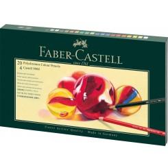 Faber Castell Polychromos og Castell 9000 gaveæske