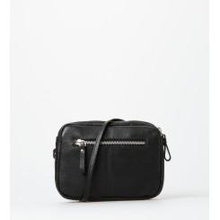 Crossbody bag ∙ Sigrid ∙ Black/Silver