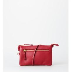 Crossbody bag ∙ Trine ∙ Red