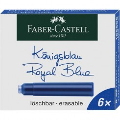 Faber Castell Blækpatron - blå