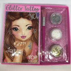 TOPModel Glitter Tattoo Sæt