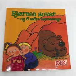 Pixi-serie 117 - Bjørnen sover - og 6 andre børnesange