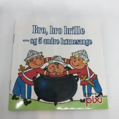 Pixi-serie 117 - Bro, bro brille - og 5 andre børnesange