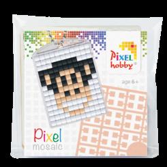 Pixel mosaic nøglering - Abe
