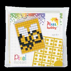 Pixel mosaic nøglering - Bi