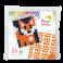 Pixel mosaic nøglering - Ræv
