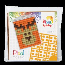 Pixel mosaic nøglering - Rensdyr