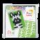 Pixel mosaic nøglering - Zebra